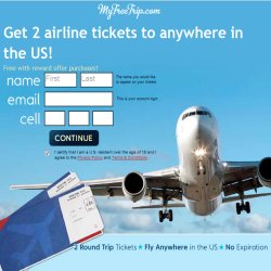 Get 2 United Airline vouchers to the destination of your choice - see details.